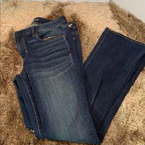 American Eagle skinny Kick boot cut jeans